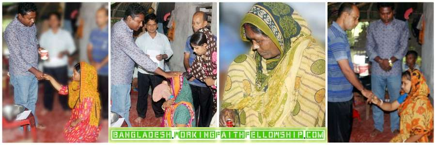 Bangladesh Baptisms Khulna Tala Chritian Child sponsorship sponsor a child