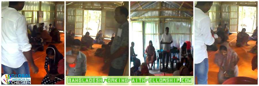 Baptisms in Bangladesh GMFC WFF World Vision Compassion International Jesus Christian