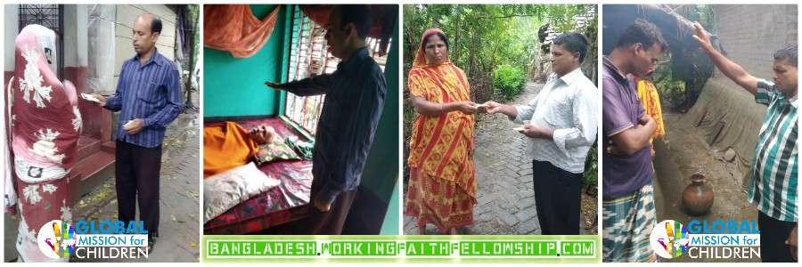 Walking as Jesus Walked Banner Bangladesh Jesus Christian