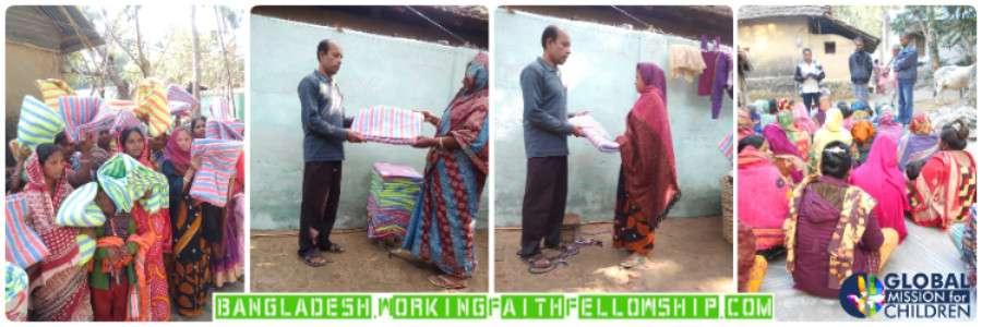 Winter Blankets Blessing the Bangladesh Brethren
